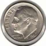 10 центов 1992 D, Рузвельт
