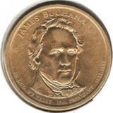 1 доллар 2010 D, Дж. Бьюкенен (15й президент)