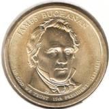 1 доллар 2010 P, Дж. Бьюкенен (15й президент)