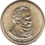 1 доллар 2011 P, Р. Б. Хейз (19й президент)