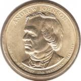 1 доллар 2011 P, Э.Джонсон (17й президент)
