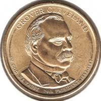 1 доллар 2012 D, Г. Кливленд (24й президент)