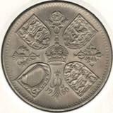 5 шиллингов (крона) 1960. Британская выставка в Нью-Йорке