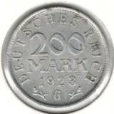 200 марок 1923 G