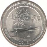 25 центов 2013 D, Форт Мак-Генри (Мэриленд)