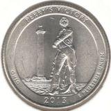 25 центов 2013 D, Мемориал Мира (Огайо)