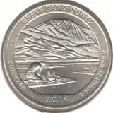 25 центов 2014 D, Великие Песчаные Дюны (Колорадо)