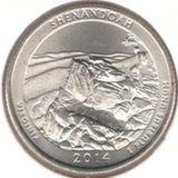 25 центов 2014 D, Шенандоа (Виргиния)