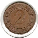 2 рентенпфеннига 1924 А