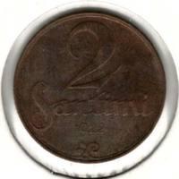 2 сантима 1922