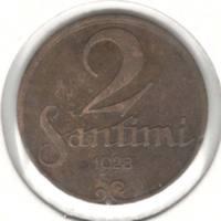 2 сантима 1928