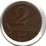 2 сантима 1932