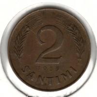 2 сантима 1939