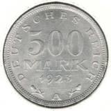 500 марок 1923 А