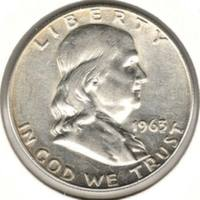 50 центов 1963  D, Франклин