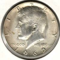 50 центов 1969 D, Кеннеди