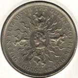 25 пенсов (крона) 1980, 80 лет Королеве-Матери