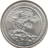 25 центов 2013 D, Большой Бассейн (Невада)