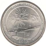 25 центов 2013 P, Форт Мак-Генри (Мэриленд)