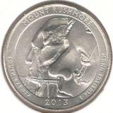 25 центов 2013 P, Рашмор (Южная Дакота)