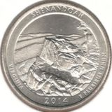 25 центов 2014 P, Шенандоа (Виргиния)