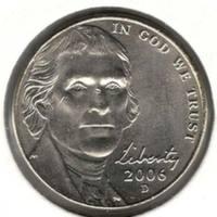 5 центов 2006 D, Джефферсон